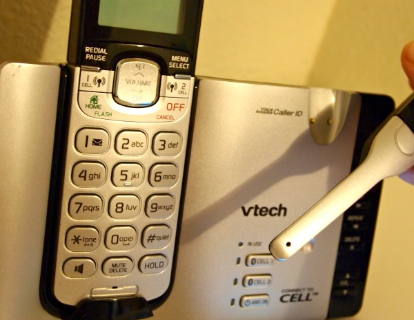 VTech DS6670-6C Connect to Cell hands free