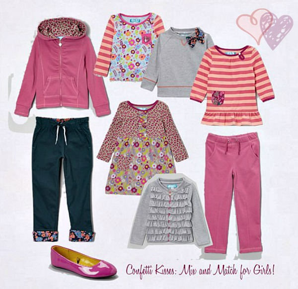 Confetti Kisses: Mix and match fashions for girls