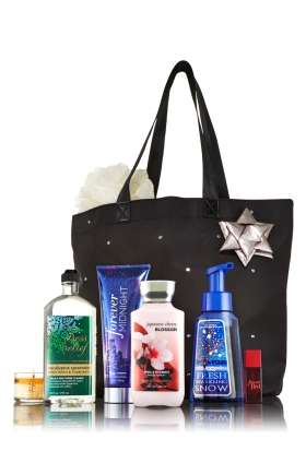 Black Friday bonus deal tote from Bath & Body Works
