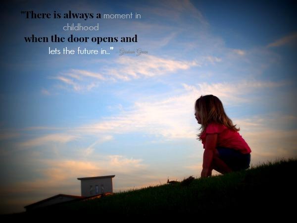 Door opening kids quote