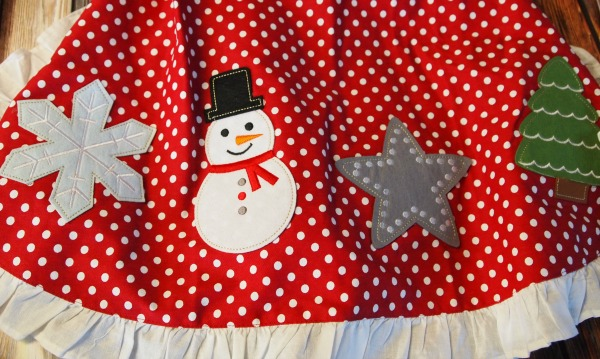 Personalized Christmas Apron