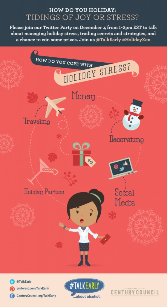 Tips to Avoid Stress and Find Your #HolidayZen this Season!