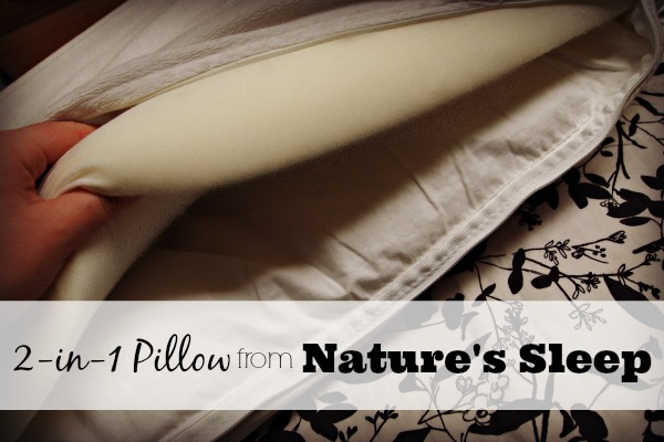 Nature's Sleep memory foam pillow - #NSAmbassador