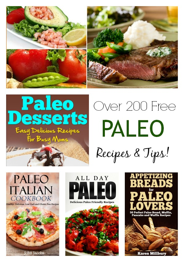 Tons of free Paleo recipes and tips