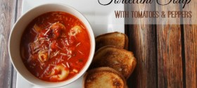 Easy Peasy Tortellini Soup