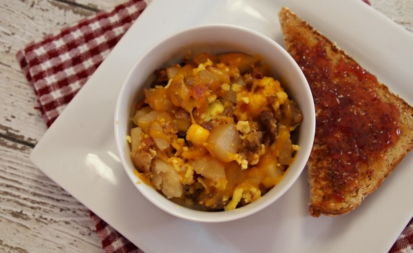 Meat Lovers Jimmy Dean Breakfast Bowl