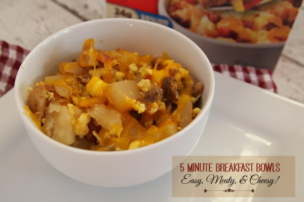 5 Minute Breakfast Bowls