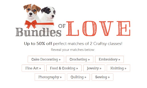 Learn Something New: Craftsy Perfect Match Flash Sale