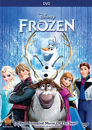 Frozen - Disney's Frozen on DVD