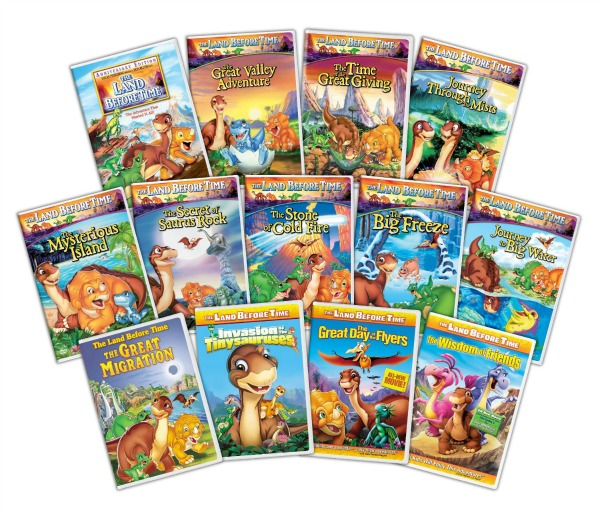 Land Before Time full collection set