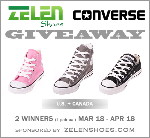 Zelen Shoes Converse Giveaway