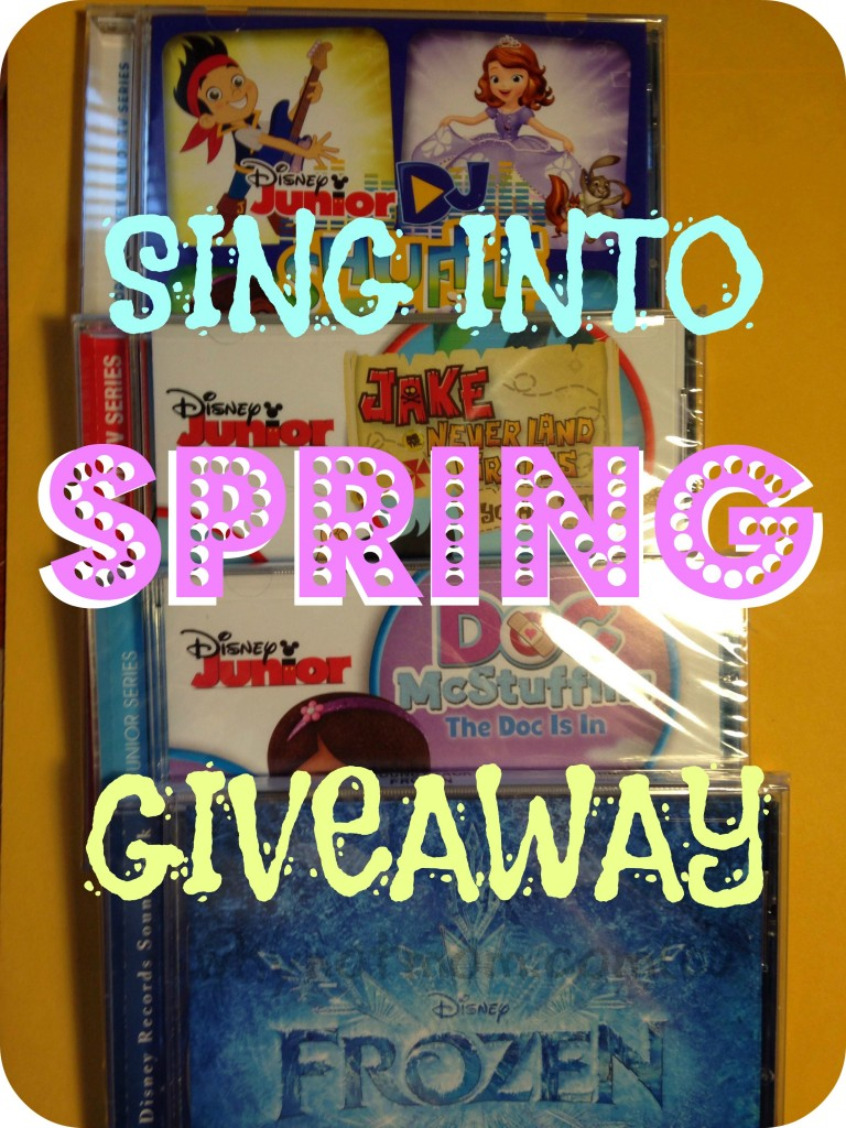 Sing Into Spring with Disney Giveaway!