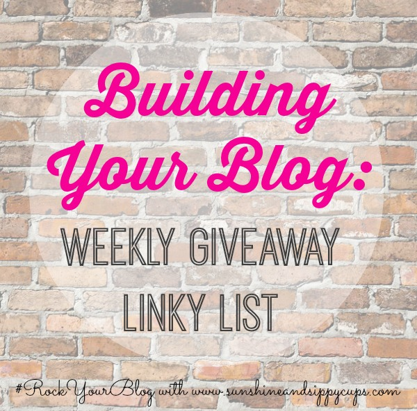 Blog Giveaway Linky List