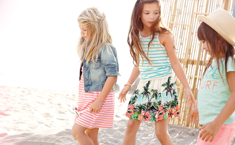 Summer fashion for girls