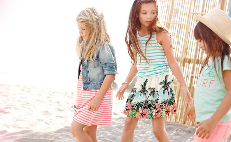 Summer fashion for girls