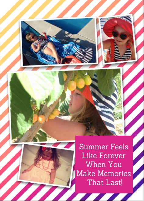 Summer graphic using HP products