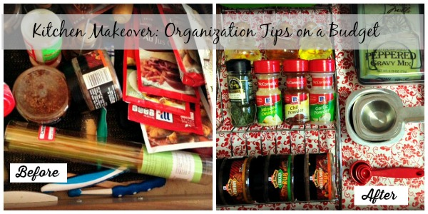 Kitchen Makeover: Organization Tips