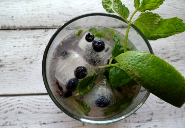 Blueberry Mojito - #Sweetnlowstars