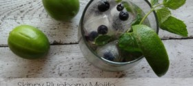 Skinny Blueberry Mojito Recipe