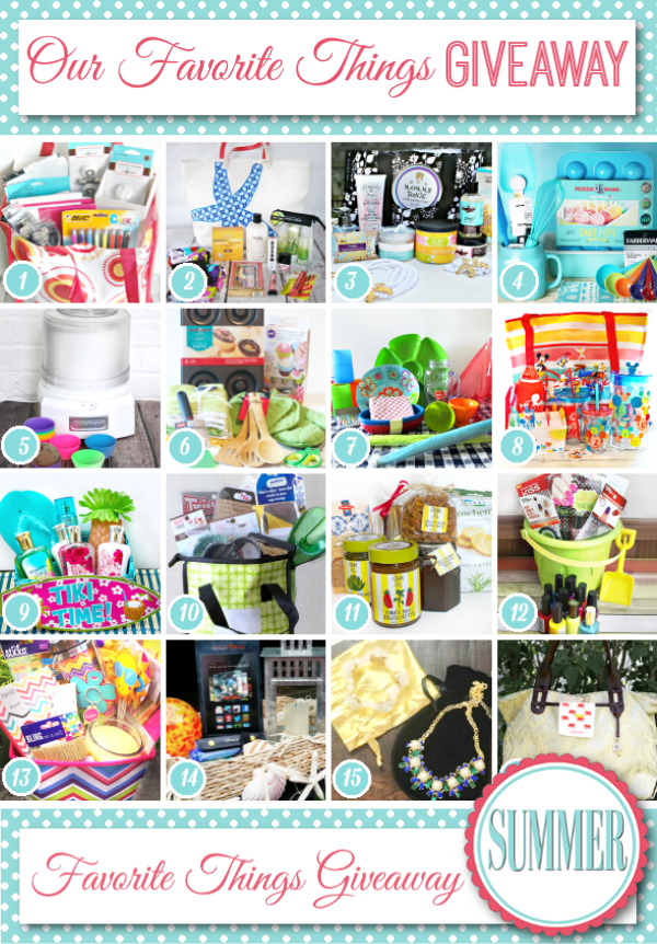 Enter to Win My Favorite Summer Sunshine Things!