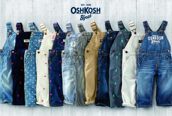 OshKosh B'gosh Overalls - classic styles and cool new trends!