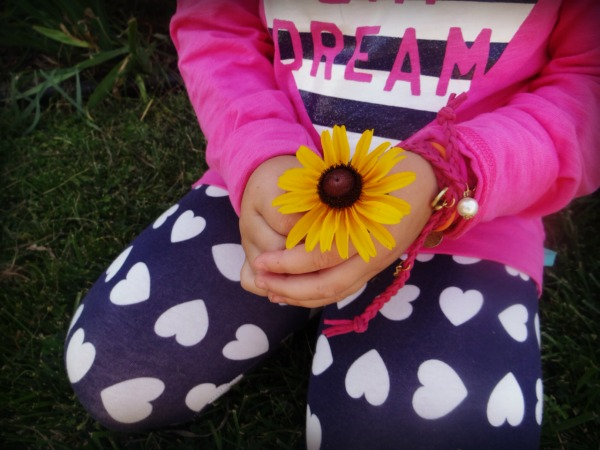 Fall fashion for kids, mix and match, TCL, Flower power