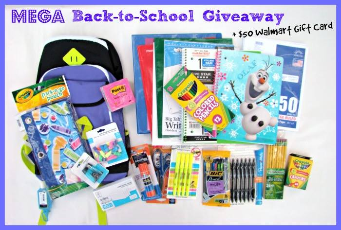 Mega Back to School Giveaway Prize Package!!