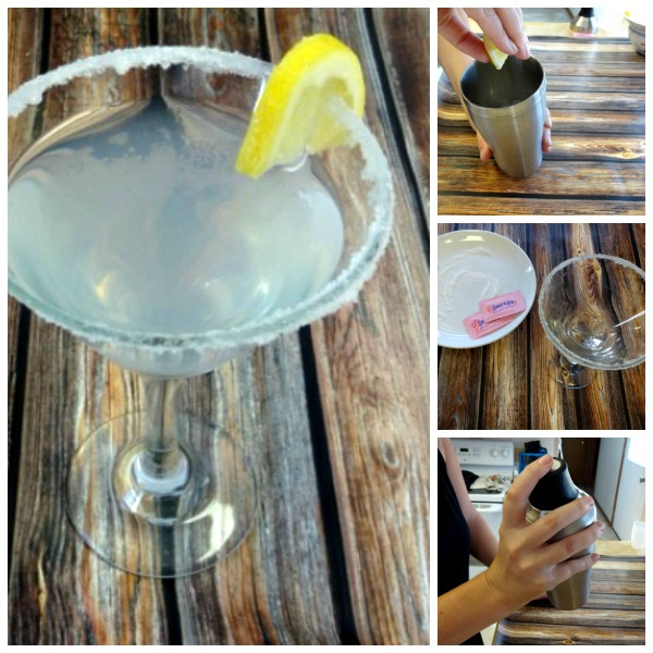 How to make a Low cal Lemon Drop - #SweetNLowStars