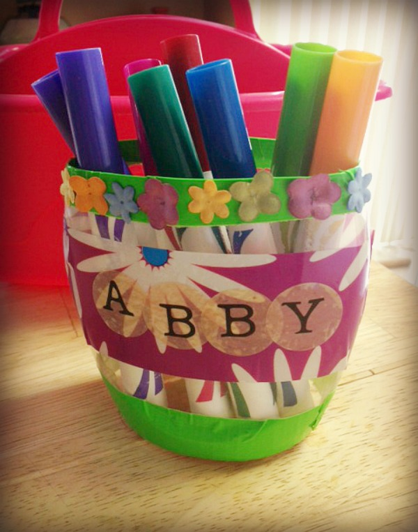 DIY Pencil or Marker Holder