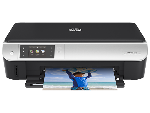 HP 5530 Printer with Instant Ink Service from Best Buy