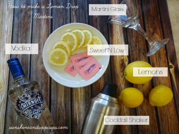 Low-Cal Lemon Drop Martini Recipe