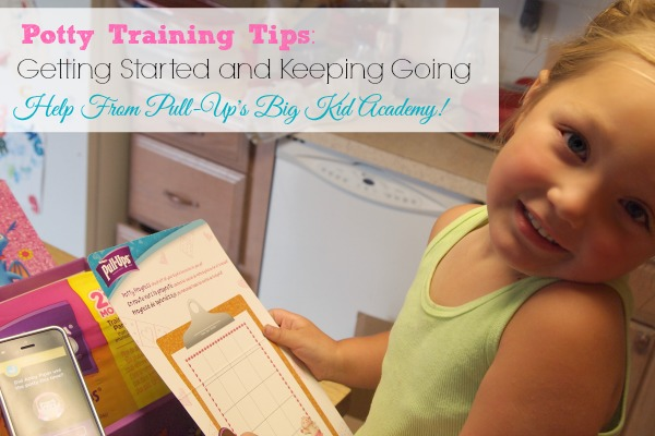 Potty Training Tips: Getting Started and Keeping it Going