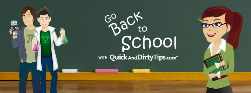 Quick and Dirty Tips to Make Back to School Simple