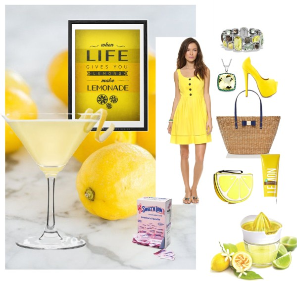 Lemon Drop Martini Style - #sweetnlowstars