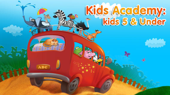 Kid's Academy App Makes Learning Fun!