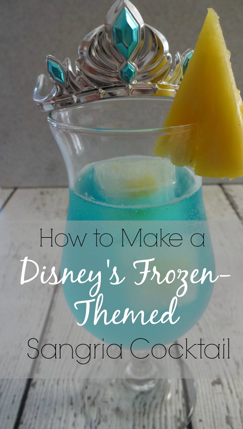 The Elsa Cocktail – Disney's Frozen Inspired Sangria Recipe