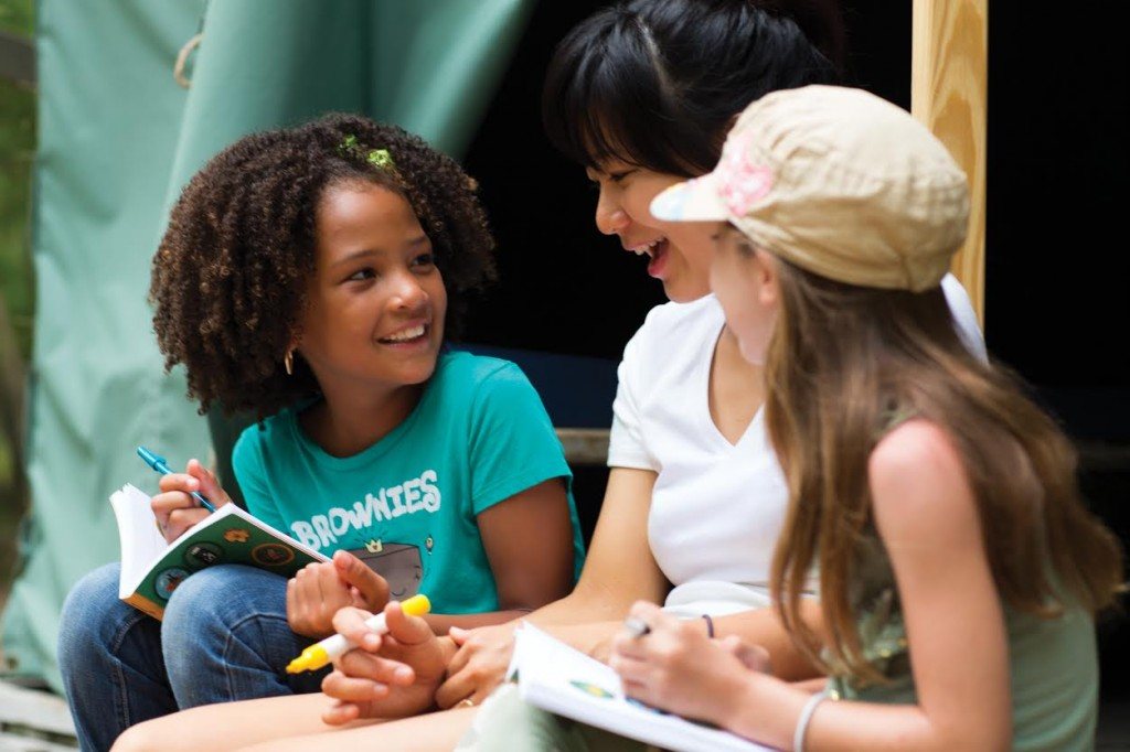 Girl Scouts and Healthy Habits - awesome!