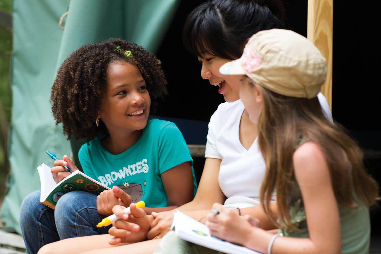 When it Comes to Girl Scouts – Together Counts!