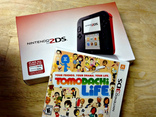 Nintendo 2DS and Tomodachi