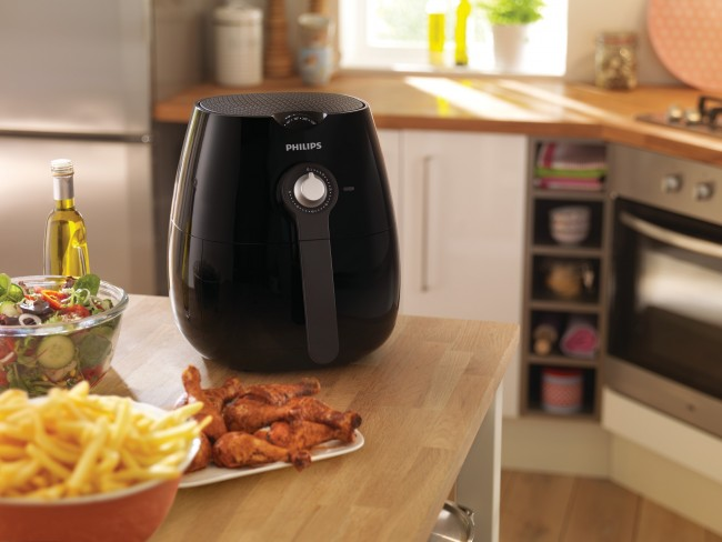 Philip's Airfryer - multitasker in the kitchen. Fry, bake, roast, AND grill!