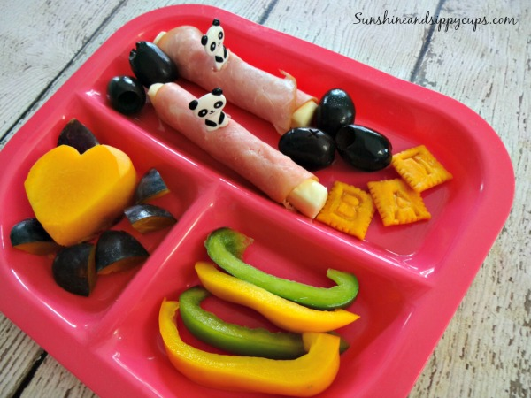 Fun kids lunch ideas, roll-ups, healthy.
