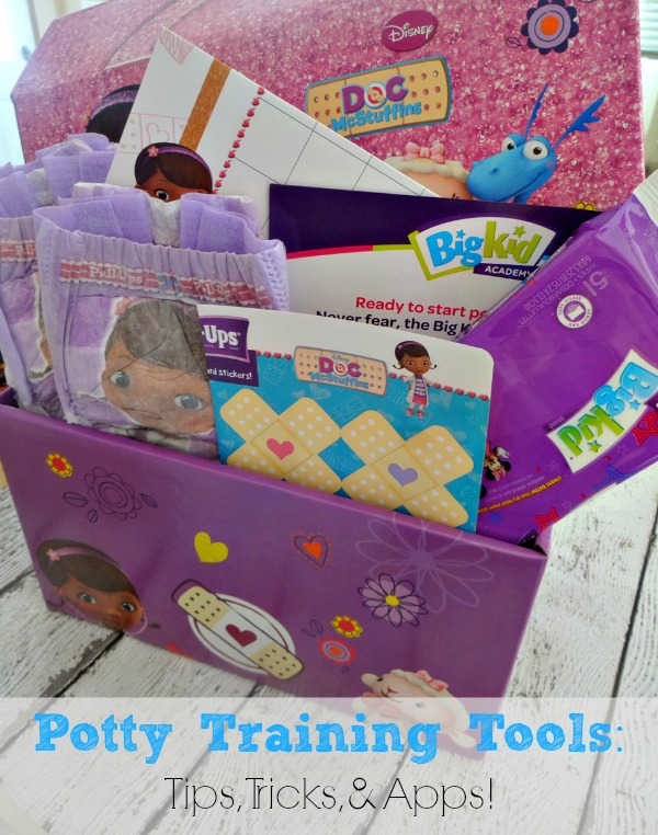 Potty training tips and products