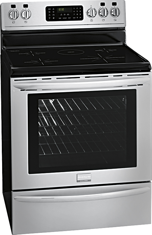 Frigidaire Self-Cleaning Electric Convection Induction Range