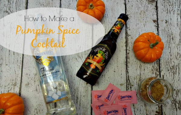 How to make a pumpkin spice cocktail