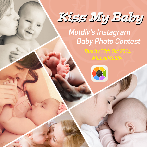 Kiss My Baby Instagram Photo Contest!