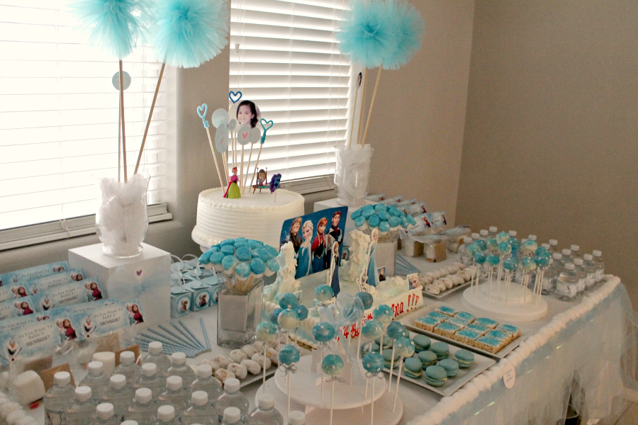 Frozen Birthday Decorations Pinterest Image Inspiration of Cake