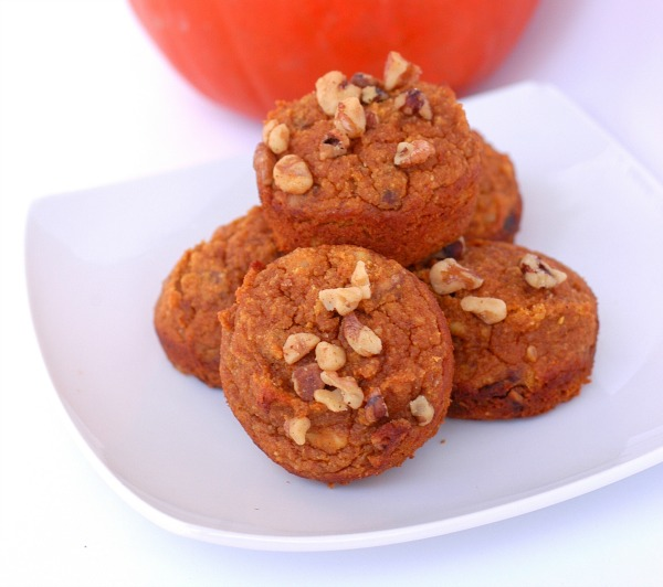 Pumpkin Spice Muffins – Grain Free Recipe – (makes 12):