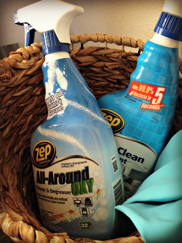 Zep Commercial - All-Around Oxy Cleaner and Degreaser and Quick Clean Disinfectant #TryZep