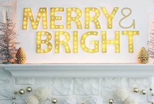 Make This a How-To Holiday – Marquee Sign DIY Project