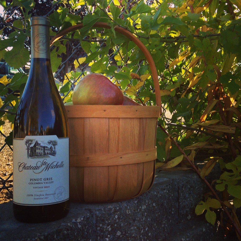 Washington apples and wine - sangria recipe